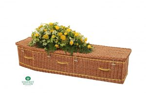 Traditional Willow Coffin
